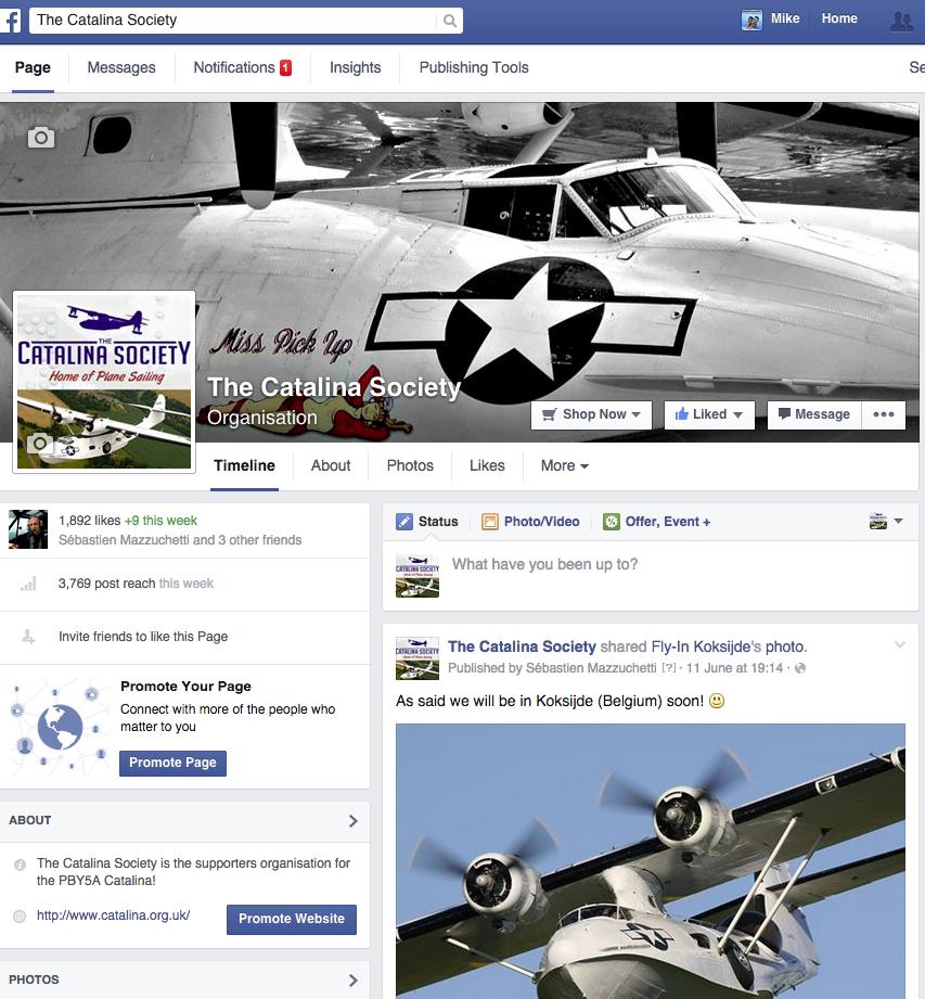 Catalina Society Now on Facebook!