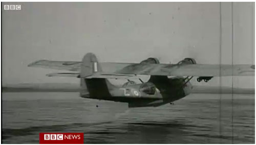 WWII Veterans return to skies in Catalina flying boat
